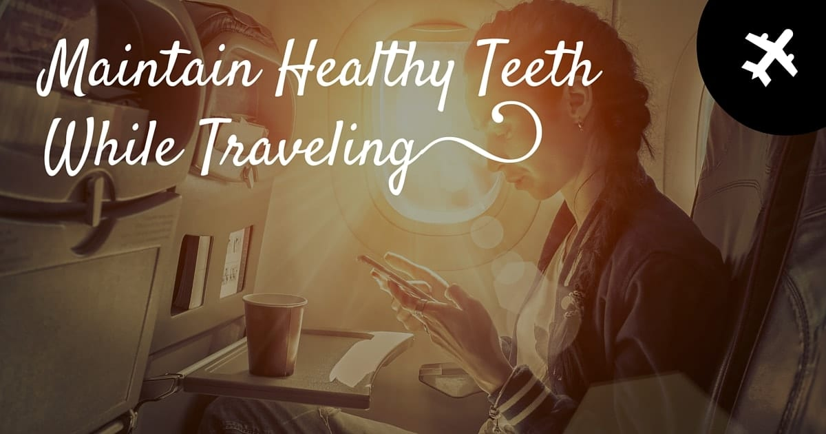 Maintain Healthy Teeth Banner