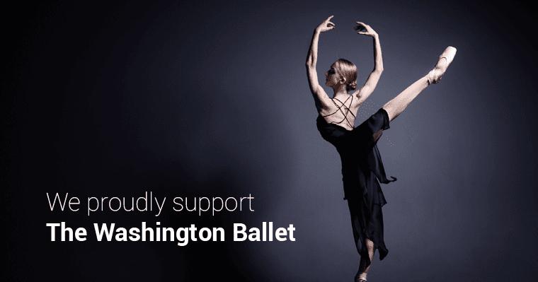 Washington Ballet Support Banner